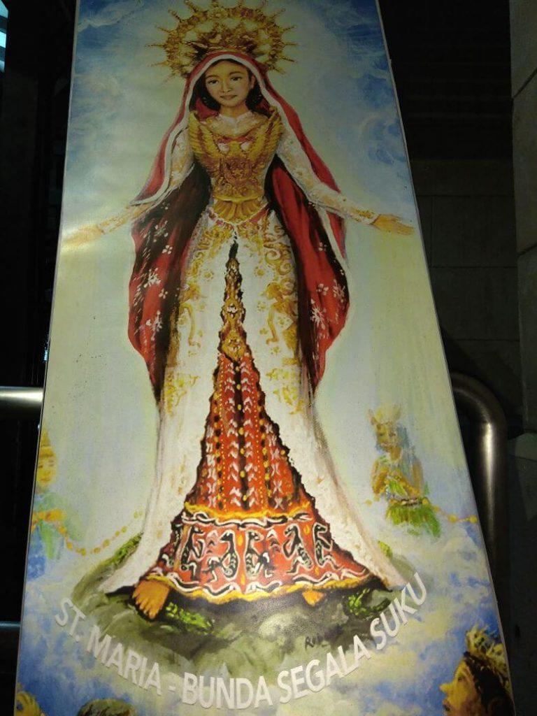 Maria Ibu Yesus Keturunan Daud Mendapat Anugrah dari Allah