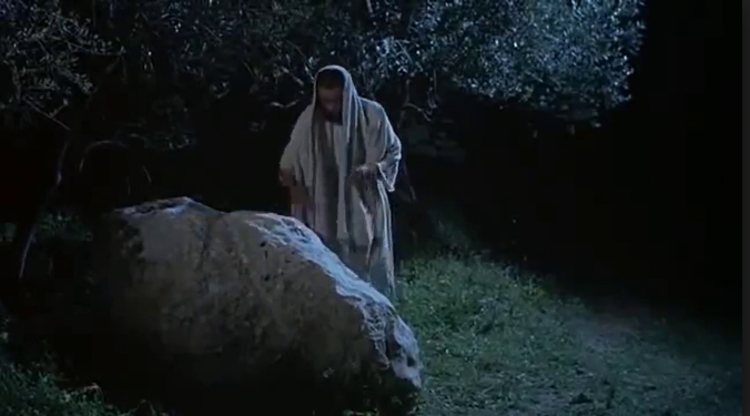 Yesus digoda untuk membatalkan pengorbanan dirinya untuk manusia