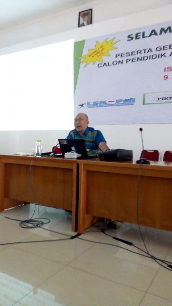 Nara Sumber P3AI dan PerP4RI Memberikan Materi di islami Centre Bekasi