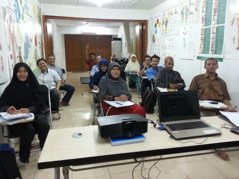 Kursus Akupressure (P3AI) 12 x Pertemuandi TangSel Jabar