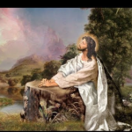Yesus Memberi Teladan dengan cara Mendoakan Manusia Agar selamat