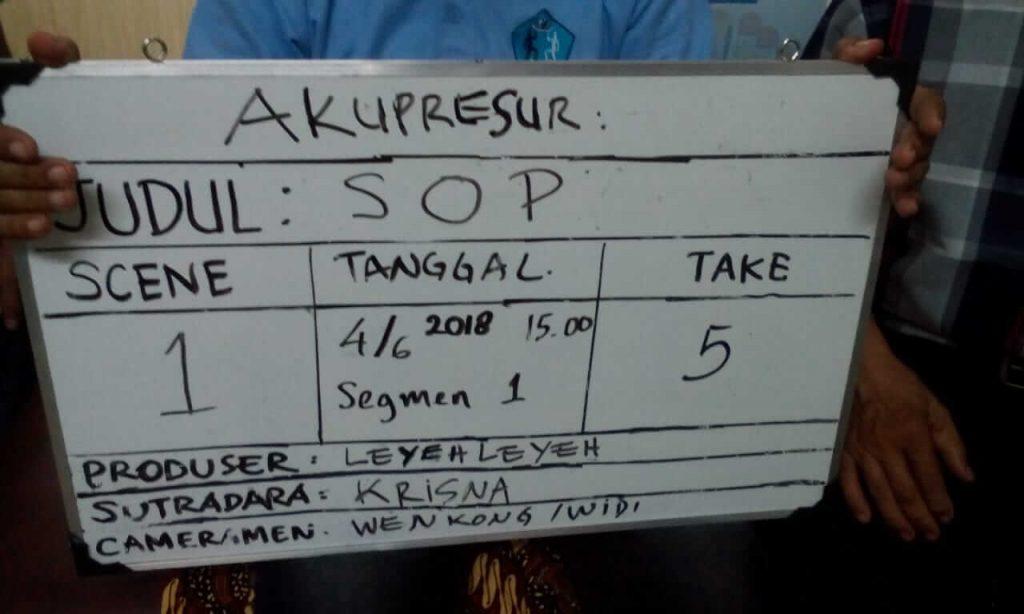 Behind The Scene P3AI-PerP4RI SOP Akupresur